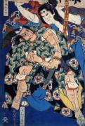 Театральная гравюра - Кацусика, Хокусай