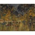 Парижский бульвар 02 - Коровин, Константин Алексеевич