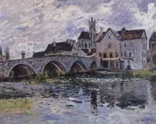 Мост в Море-сюр-Луэне - Сислей, Альфред