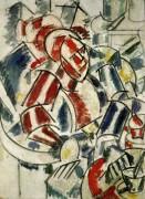Женщина в кресле (The Woman with the armchair),  1913 - Леже, Фернан