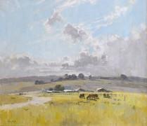 Пейзаж со стадом и фермерскими домами, 1921 - Бойд, Теодор Пенли