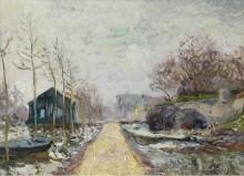 Половодье в Бассе-Гулен близ Нанта, 1904 - Мофра, Максим