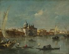 Венеция - Джудекка с Зидель - Гварди, Франческо