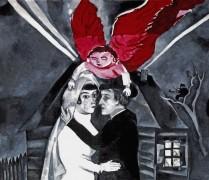 Венчание, 1918 - Шагал, Марк Захарович
