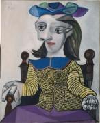 Женщина в желтом свитере - Пикассо, Пабло