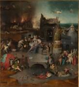 Искушение святого Антония, центральная панель триптиха - Босх, Иероним (Ерун Антонисон ван Акен)