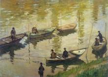 Рыбаки на Сене - Моне, Клод