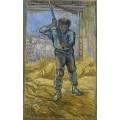 Молотильщик (The Thresher), 1889 - Гог, Винсент ван