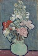 Ваза с розовыми мальвами (Vase with Rose-Mallows), 1890 - Гог, Винсент ван
