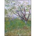 Фруктовый сад в цвету (Orchard in Bloom), 1888 - Гог, Винсент ван