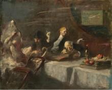 Ночь в Максиме, 1907 -  Домерг,  Жан-Габриэль
