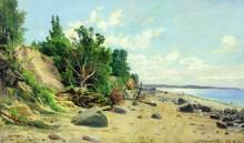 Берег моря, 1890 - Шишкин, Иван Иванович