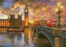 Закат над Вестминстером