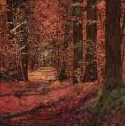 Осень в лесу - Борелли, Гвидо (20 век)