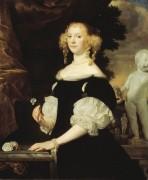 Женский портрет - Темпел, Абрахам ван ден