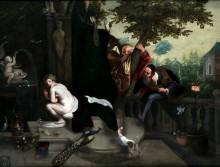 Сусанна и старцы - Брейгель, Ян (младший)