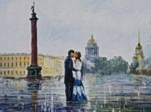 Поцелуй в Санкт-Петербурге - Афремов, Леонид