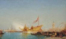 Бучинторо в венецианской лагуне -  Зим, Феликс