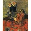 Цветы и ваза, 1883 - Энсор, Джеймс