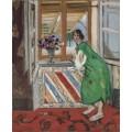 Девушка в восточном зеленом платье - Матисс, Анри