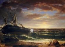 Корабль на мели - Дюран, Ашер Браун