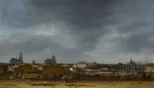 Вид Делфта после взрыва 1654 года - Пул, Эгберт ван дер