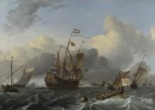 Эндрахт и  флот голландских мужчин-военнопленных - Бакхейзен, Людольф
