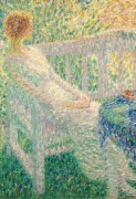 Молодая девушка в саду, 1913 - Смет, Леон де