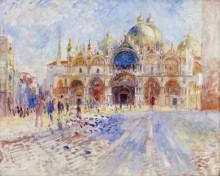 Площадь Святого Марка, Венеция. 1881 - Ренуар, Пьер Огюст