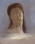 Закрытые глаза - Редон, Одилон