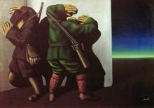 Охотники на краю ночи - Магритт, Рене