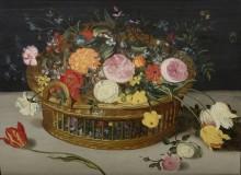 Корзина с цветами - Брейгель, Ян (Старший)
