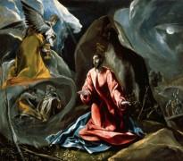 Христос на Масличной горе (Моление о чаше) - Греко, Эль