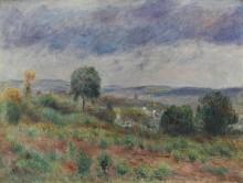Пейзаж в Овере - Ренуар, Пьер Огюст