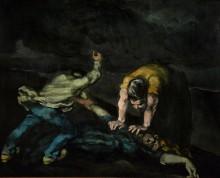Убийство - Сезанн, Поль