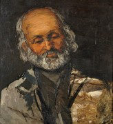 Голова старика (Папаша Рувель Бенкур?) - Сезанн, Поль