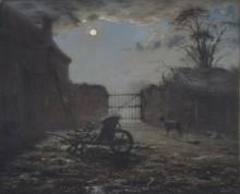 Ферма в лунном свете - Милле, Жан-Франсуа