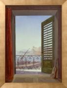 Балкон с видом на Неаполитанский залив - Карус, Карл Густав