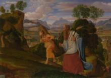 Авраам и Исаак - Оливье, Иоганн Генрих Фердинанд