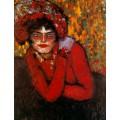 Рука на плече, 1901 - Пикассо, Пабло