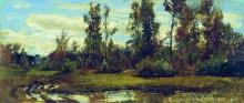 Озеро в лесу - Шишкин, Иван Иванович
