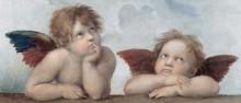 Ангелочки (Сикстинская Мадонна) - Рафаэль, Санти