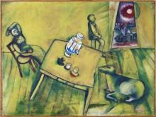 Желтая комната - Шагал, Марк Захарович