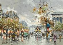 Площадь Мадлен - Бланшар, Антуан