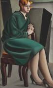 Сидящая женщина - Лемпицка, Тамара