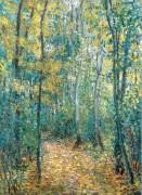 Молодой лес (Подлесок) - Моне, Клод