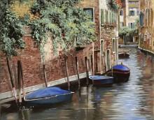 Лодки в Венеции - Борелли, Гвидо (20 век)