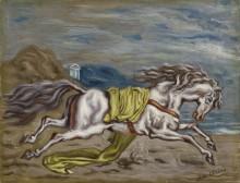 Бегущая лошадь - Кирико, Джорджо де