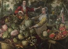 Четыре стихии, земля - овощной и фруктовый рынок - Бейкелар, Йоахим