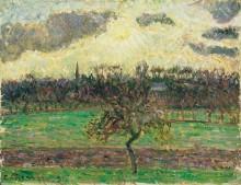 Луга в Эрагни, яблоня, 1894 - Писсарро, Камиль